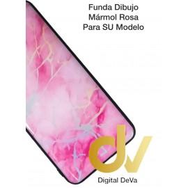 DV A30 SAMSUNG  FUNDA DIBUJO RELIEVE 5D MARMOL ROSA