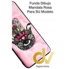 A30 Samsung Funda Dibujo 5D Mandala Rosa