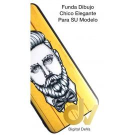 A30 Samsung Funda Dibujo 5D Chico Elegante