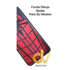 DV A8 2018  SAMSUNG  FUNDA DIBUJO RELIEVE 5D ARAÑA