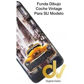 A30 Samsung Funda Dibujo 5D Coche Vintage