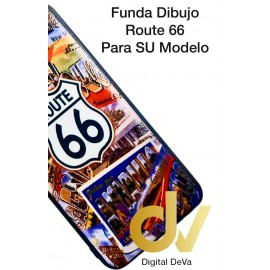 DV A30 SAMSUNG  FUNDA DIBUJO RELIEVE 5D ROUTE 66