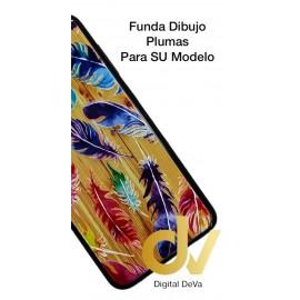DV A8 2018  SAMSUNG  FUNDA DIBUJO RELIEVE 5D PLUMAS