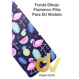 S10 Lite Samsung Funda Dibujo 5D FLAMENCO & PIÑA
