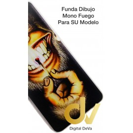 S10 Lite Samsung Funda Dibujo 5D MONO FUEGO