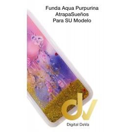 DV J4 PLUS  SAMSUNG FUNDA AGUA PURPURINA ATRAPA SUEÑO ROSAS