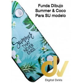 DV  A7 2018  SAMSUNG FUNDA DIBUJO RELIEVE 5D HELLO SUMMER