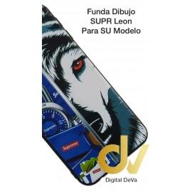 DV  A7 2018  SAMSUNG FUNDA DIBUJO RELIEVE 5D LOBO SUPREME