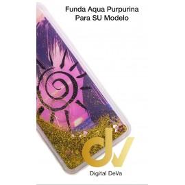 DV  A7 2018  SAMSUNG FUNDA AGUA  PURPURINA ATADECER