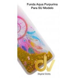 DV  A7 2018  SAMSUNG FUNDA AGUA  PURPURINA ATRAPA SUEÑO