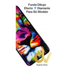 DV NOTE 10 SAMSUNG  FUNDA DIBUJO DIAMOND LEON COLORES