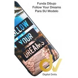 DV NOTE 10 SAMSUNG FUNDA DIBUJO RELIEVE 5D FOLLOW YOUR DREAMS