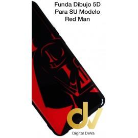 A70 SAMSUNG Funda Dibujo 5D RED MAN