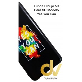 DV A70 SAMSUNG  FUNDA DIBUJO RELIEVE 5D YES YOU CAN