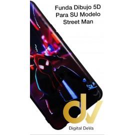 A70 SAMSUNG Funda Dibujo 5D STREET MAN