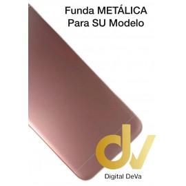 DV J6 2018 SAMSUNG FUNDA METALICA MAGNETICA ROSA GOLD