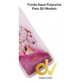 DV A6 PLUS 2018 SAMSUNG FUNDA AGUA PURPURINA ATRAPA SUEÑOS