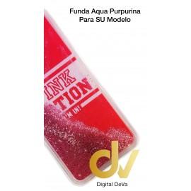 DV  J6 PLUS  SAMSUNG FUNDA AGUA  PURPURINA PINK