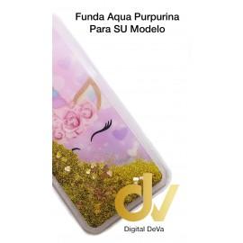 DV J4 PLUS  SAMSUNG FUNDA AGUA PURPURINA UNICORNIO
