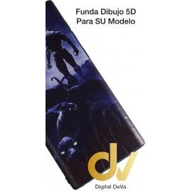DV NOTE 10 SAMSUNG FUNDA DIBUJO RELIEVE 5D PANTERAS