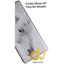 DV NOTE 10 SAMSUNG FUNDA DIBUJO RELIEVE 5D CABALLO