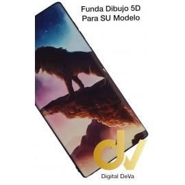 DV NOTE 10 SAMSUNG FUNDA DIBUJO RELIEVE 5D LEON DORADO