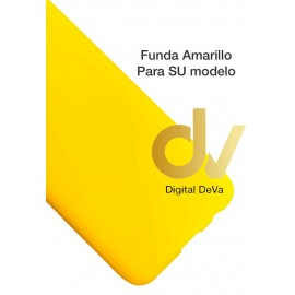 DV A21 SAMSUNG FUNDA Silicona AMARILLO