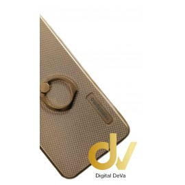 DV S7 SAMSUNG  FUNDA CON ANILLO SOPORTE DORADO