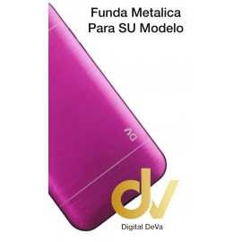 DV J7 2015 SAMSUNG FUNDA METALICA ROSA