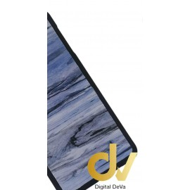 S7 Edge Samsung Funda Efecto Madera AZUL
