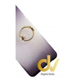 DV S6 EDGE SAMSUNG FUNDA DUAL COLOR CON ANILLO NEGRO