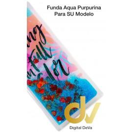 A20E SAMSUNG FUNDA Agua Purpurina LIVING