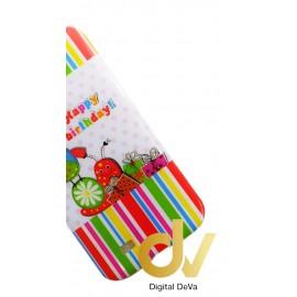DV S4 / i9500 SAMSUNG FUNDA DIBUJO HAPPY BIRTHDAY
