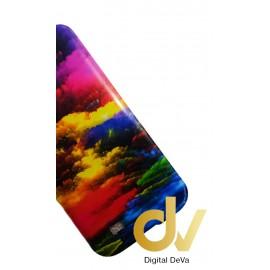 DV S4 / i9500 SAMSUNG FUNDA DIBUJO NUBES COLORES