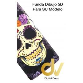 S8 Plus Samsung Funda Dibujo 5D Calavera