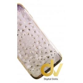 DV J330 / J3 2017 / J3 PRO SAMSUNG FUNDA DIAMOND CUT DORADO