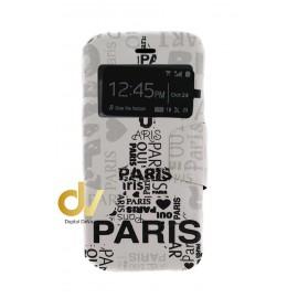 DV S6 EDGE  SAMSUNG  FUNDA LIBRO DIBUJO PARIS