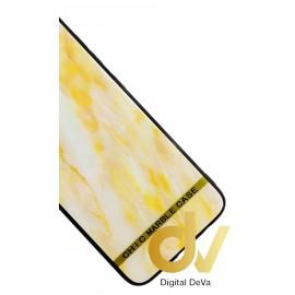 S8 Samsung Funda Dibujo Con Vidrio Templado Marmol Dorado