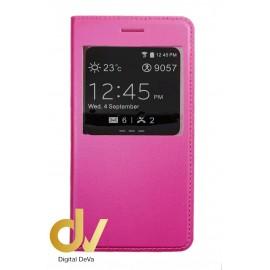S8 Plus Samsung Funda Libro 1 Ventana Rosa
