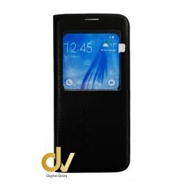 S8 Plus Samsung Funda Libro 1 Ventana Negro