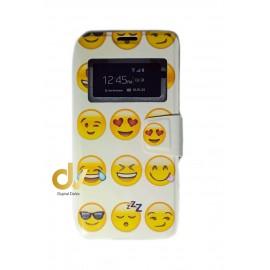 S8 Samsung Funda Libro Dibujo Emojis