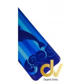 S8 Samsung Funda Dibujo Delfin