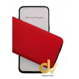 S8 Samsung Funda Pc 360 Doble Cara Rojo