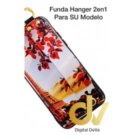S10 Plus Samsung Funda Hanger 2 en 1 FLORAL PARIS