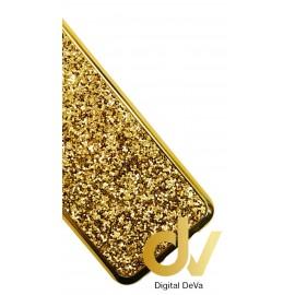 S8 Samsung Funda Glitter Brilli Brilli Dorado