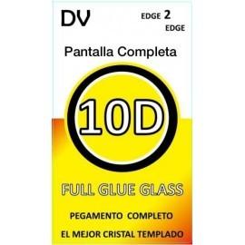 A6 2018 SAMSUNG Negro CRISTAL Pantalla Completa FULL GLUE