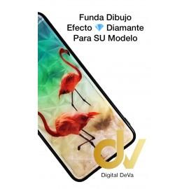 A10 Samsung Funda Diamond Cut Flamencos