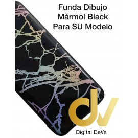 DV A20E SAMSUNG FUNDA DIBUJO RELIEVE 5D MARMOL NEGRO