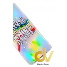 DV Y6P / Y6 PLUS 2020 FUNDA 6D SILVER SHINE MARGARITAS