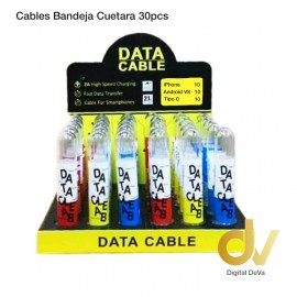 CABLE 2.4A Bandeja x 30 PC